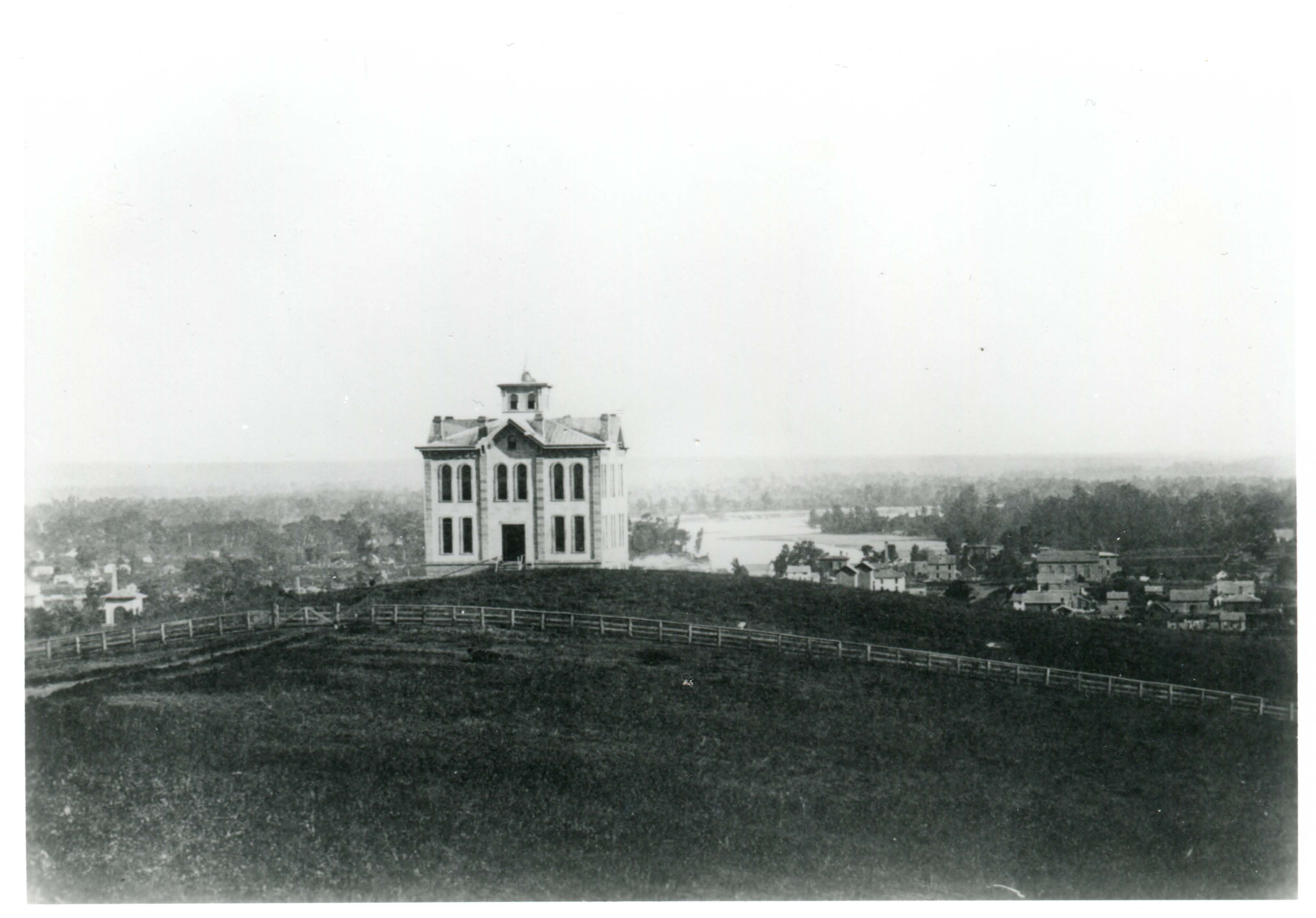 Old North College 1866