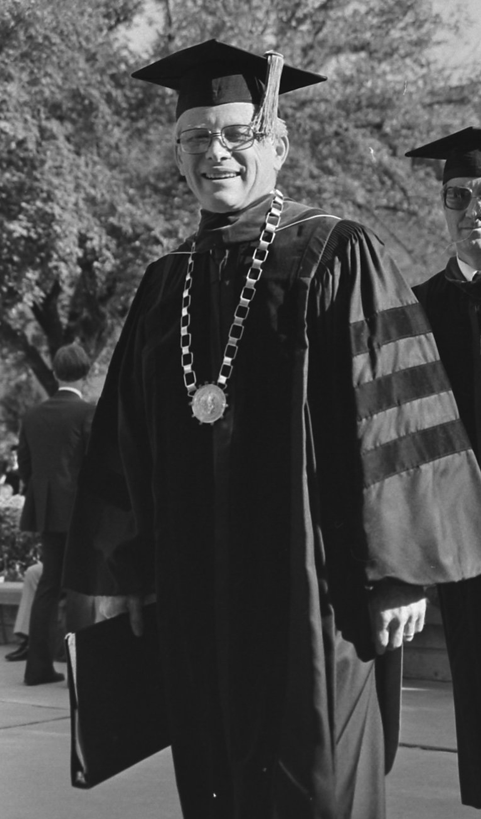 Del Shankel in the 1981 Convocation procession